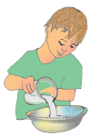 Boy Pouring - John Duffield duffield-design copy