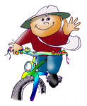 Boy on Bike - John Duffield duffield-design