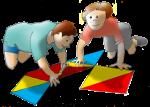 Boys Laying Tiles - John Duffield duffield-design