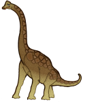 Brachiosaurus 26 m long - John Duffield duffield-design