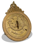 Brass Astrolabe Yemen 1291 The Met NY DP170386