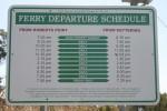 Bruny Island Ferry Times Bev Dunbar Maths Matters