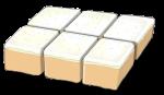 Fraction Cake - 6 Sixths - John Duffield duffield-design