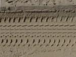 Car Track sand pattern Bev Dunbar Maths Matters