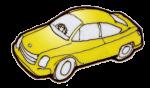 Car Yellow - John Duffield duffield-design