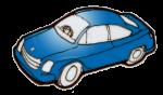 Car blue - John Duffield duffield-design