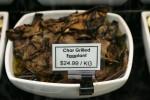 Char Grilled Eggplant $24.99 kg Bev Dunbar Maths Matters
