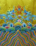 Chinese Dragon Symmetry Silk Cloth Bev Dunbar Maths Matters