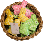 Chocolate Easter Rabbits $3.95 Bev Dunbar Maths Matters