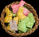 Chocolate Easter Rabbits $3.95 Bev Dunbar Maths Matters