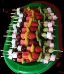 Christmas Fruit Kebab Pattern Bev Dunbar Maths Matters