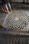 Circle Mosaic Pattern Floor Tiles Florence Bev Dunbar Maths Matters