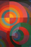 Circle Pattern Painting GNAM Rome Bev Dunbar Maths Matters