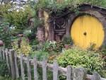 Circular Door Sam Wise House Hobiton NZ Bev Dunbar Maths Matters