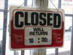 Closed Times Sign Bev Dunbar Maths Matters