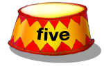 Circus Podium - five - place value