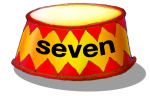 Circus Podium - seven - place value