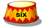 Circus Podium - six - place value
