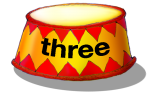Circus Podium - three - place value