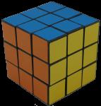 3 layers  of 9 coloured cubes Bev Dunbar Maths Matters