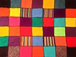 Colourful Squares Quilt Bev Dunbar Maths Matters