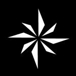 Compass Star - John Duffield duffield-design 150mm