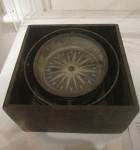 Compass from 1853 Barque Lady Franklin Hobart Maritime Museum Bev Dunbar Maths Matters