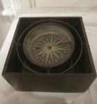 Compass from 1853 Barque Lady Franklin Hobart Maritime Museum Bev Dunbar Maths Matters