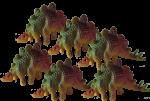 Count by 6s - Stegosaurus Bev Dunbar Maths Matters
