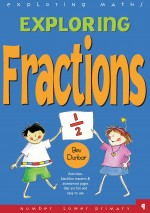 Fractions Exploring Maths Front Cover