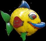 Crazy metal fish - Bev Dunbar Maths Matters