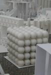 Cube with 125 balls Bev Dunbar Maths Matters
