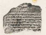 Cuneiform Tablet Mesopotamia 1st millenium BC The Met NY