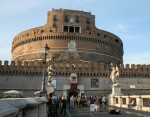Cylindrical Castel Sant Angelo Rome 139 AD Bev Dunbar Maths Matters