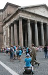 Cylindrical Tapered Columns Pantheon Rome Bev Dunbar Maths Matters