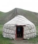 Cylindrical Yurt Kyrgyzstan Bev Dunbar Maths Matters