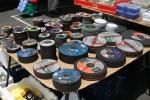 Cylindrical sanding disks Bev Dunbar Maths Matters