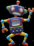 Dancing robot - toys - Bev Dunbar Maths Matters