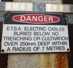 Danger sign - length - Bev Dunbar Maths Matters