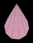 Decagonal Pyramid - John Duffield duffield-design