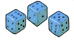 Dice Blue - John Duffield duffield-design