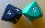 Dice Number 45 Bev Dunbar Maths Matters