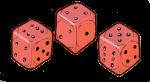Dice Red - John Duffield duffield-design