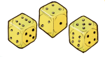 Dice yellow - John Duffield duffield-design