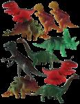 Dinosaur Tenths - 10 out of 10 dinosaurs - Bev Dunbar Maths Matters