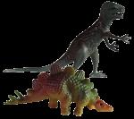 Dinosaur Tenths - 2 out of 10 dinosaurs - Bev Dunbar Maths Matters