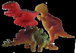 Dinosaur Tenths - 3 out of 10 dinosaurs - Bev Dunbar Maths Matters