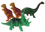 Dinosaur Tenths - 4 out of 10 dinosaurs - Bev Dunbar Maths Matters