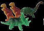 Dinosaur Tenths - 4 out of 10 dinosaurs - Bev Dunbar Maths Matters