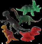 Dinosaur Tenths - 5 out of 10 dinosaurs - Bev Dunbar Maths Matters